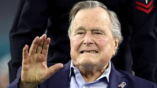 George H.W. Bush hospitalised