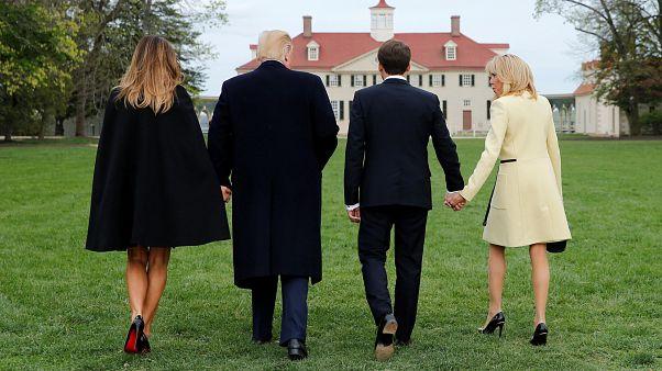 Emmanuel Macron chez Donald Trump : le plaisir avant le travail