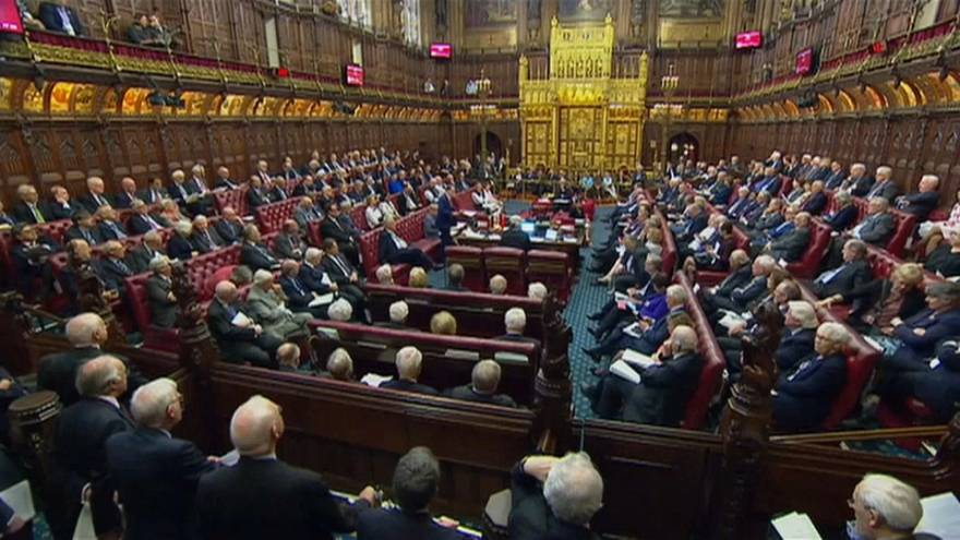 Brexit continues to pack 'em in in the House of Lords...