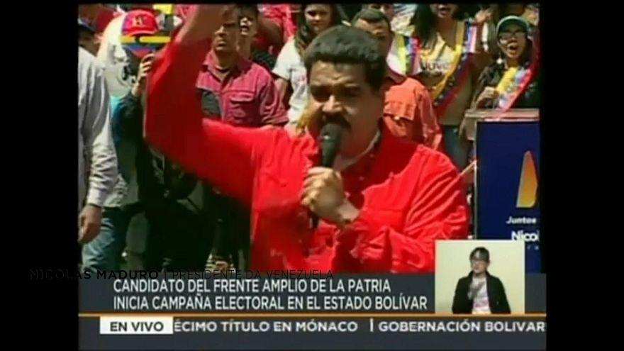 Arrancou campanha para as presidenciais venezuelanas