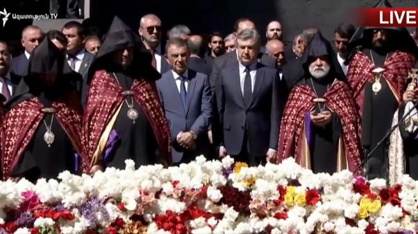 Armenia marks Remembrance Day following Sargsyan's resignation