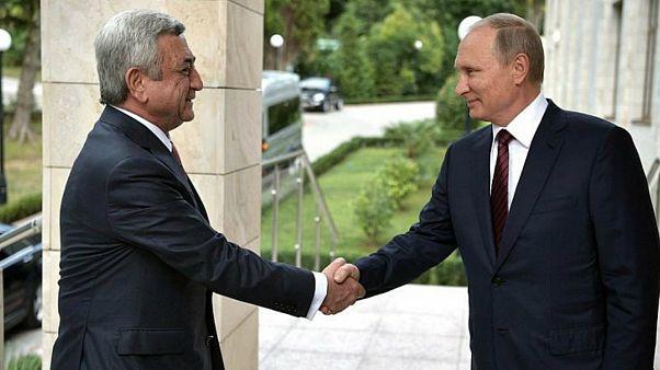 روسیه: تحولات سیاسی ارمنستان، انقلاب سبک اوکراین نیست