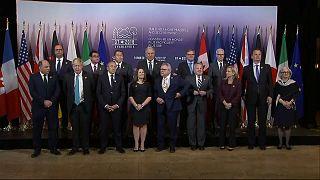 وزراء خارجية الدول السبع الكبرى في تورونتو