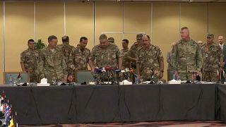 """اجتماع قادة عسكريين من 22 دولة على هامش مناورات """"الأسد المتأهب"""" في الأردن"""