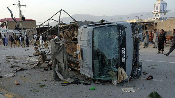 حملات انتحاری در کویته پاکستان چندین کشته و مجروح بر جای گذاشت