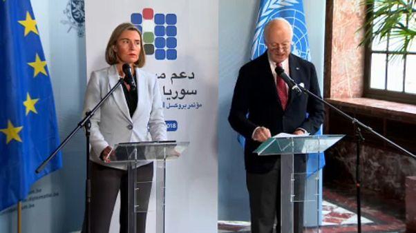 Syrien: EU und UNO rufen zu Waffenruhe auf