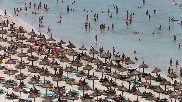 A beach in Palma