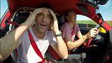 شاهد: ماريا شارابوفا تعود للتنس بالفورمولا 1