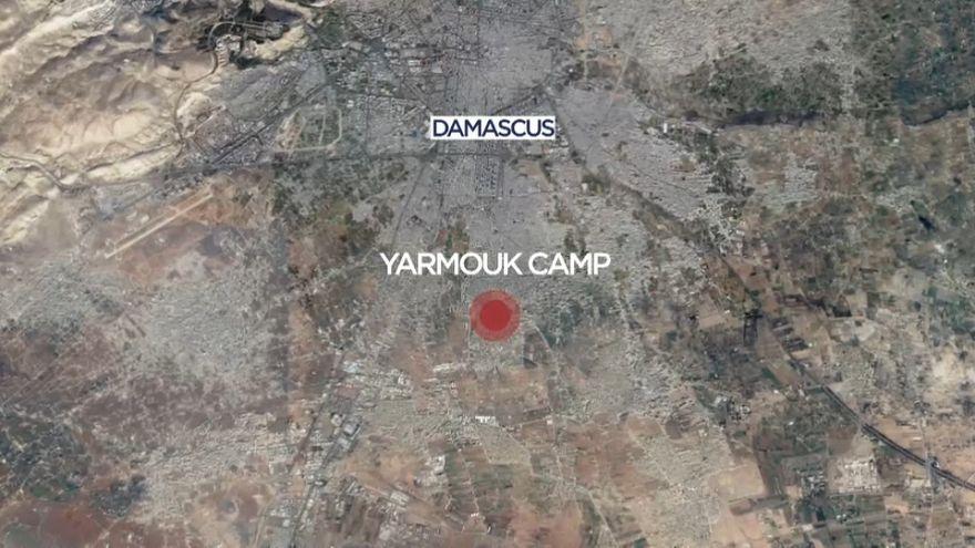 Campo de refugiados de Yarmouk debaixo de fogo