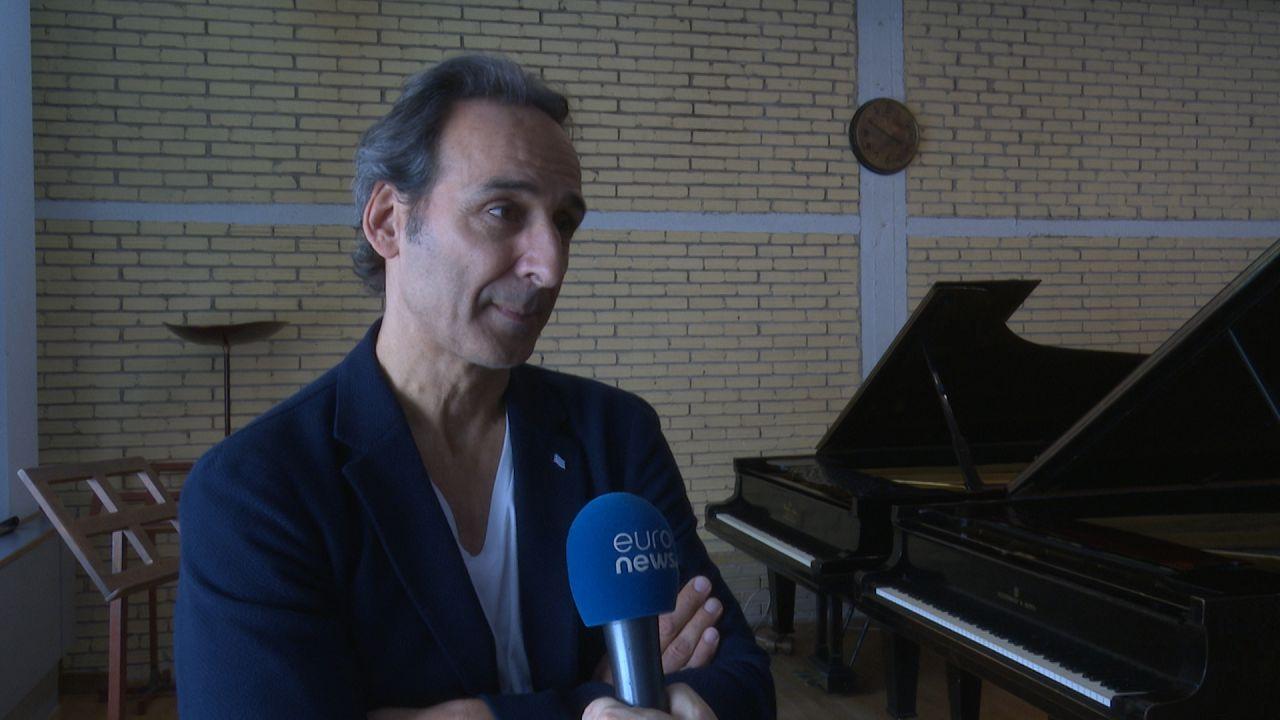 Αλεξάντρ Ντεσπλά: Ο συνθέτης των Όσκαρ στην Αθήνα