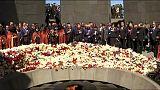 Armenia recuerda a las víctimas del genocidio de 1915