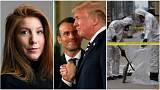 Live: Denmark murder verdict, Macron in US and Toronto van attack