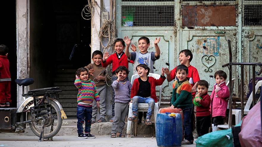 Uno de cada tres niños sirios no está escolarizado