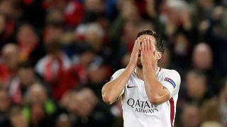 Champions League: troppo Liverpool e troppo Salah per la Roma