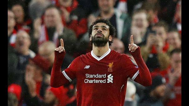 Salah lleva al Liverpool a las puertas de la final de la Champions