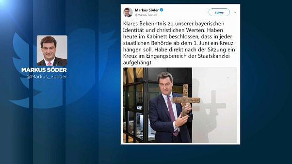 Söder und das Kreuz mit dem Kruzifix: 10 der besten Tweets