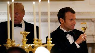 White House state dinner for Emmanuel Macron
