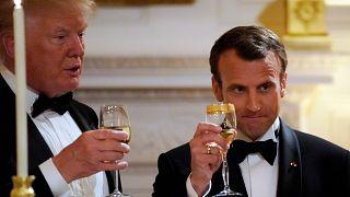 ΗΠΑ: Δείπνο Τραμπ - Μακρόν στο Λευκό Οίκο