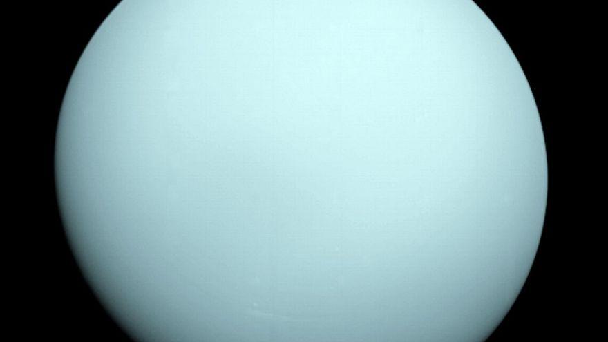 صورة الكوكب أورانوس التقطتها محطة الفضاء فواياجور2
