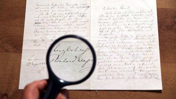 Αντισημιτική επιστολή του Βάγκνερ πουλήθηκε έναντι 34.000 δολαρίων
