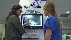 Teleprometheus, la nueva pantalla interactiva de los hospitales