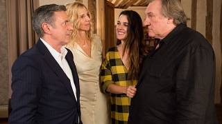 Daniel Auteuil et S. Kiberlain face à G.Depardieu et A. Ugarte