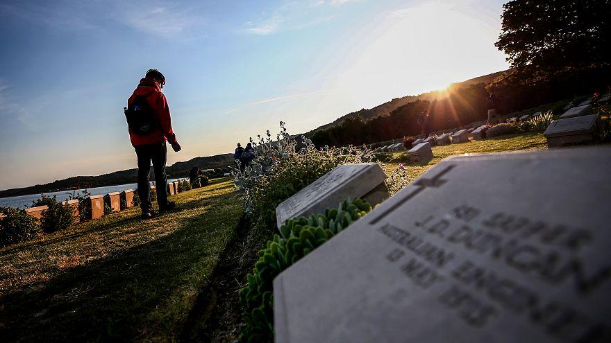 Avustralya Çanakkale'de yitirdiği askerlerini andı