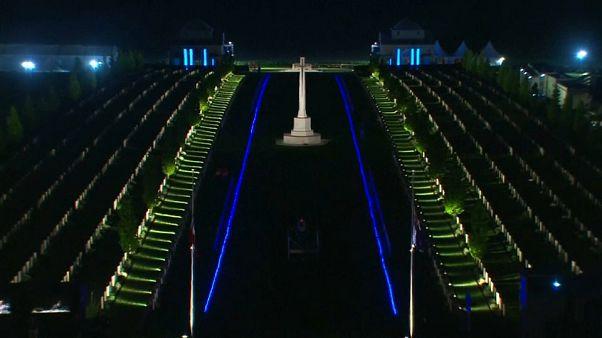 La France commémore le sacrifice des Australiens et des Néo-Zélandais en 1918