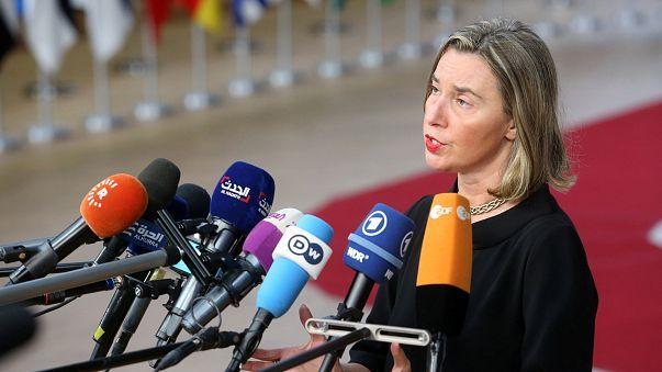 """Mogherini espera """"algumas melhorias"""" para a Síria"""