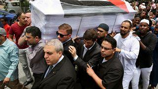 بالفيديو: نقل جثمان المحاضر والمهندس الفلسطيني فادي البطش في ماليزيا