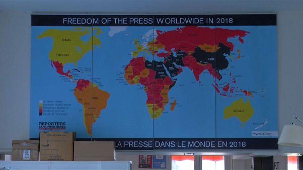 RSF: Basın Özgürlüğü Batı ülkelerinde de kötüye gidiyor