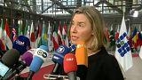 Mogherini: 'İran ile nükleer anlaşma işliyor'
