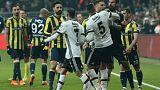 TFF kararını verdi: Fenerbahçe Beşiktaş kupa derbisi kaldığı yerden seyircisiz oynanacak