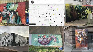 Стрит-арт как часть городского пейзажа