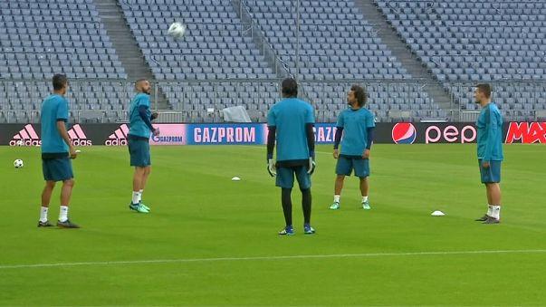 Bayer de Múnich contra Real Madrid en el clásico del fútbol europeo