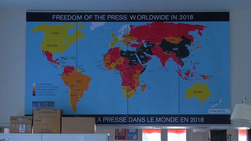 Свобода СМИ в мире снижается