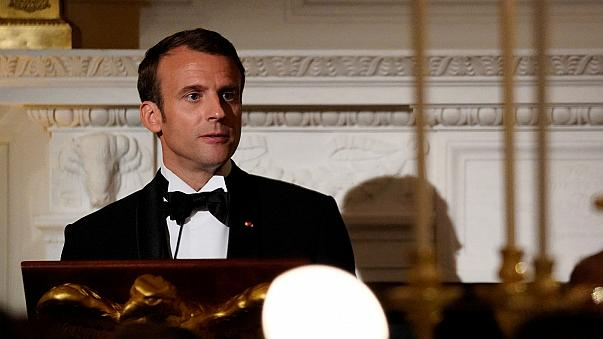 Watch again: French President Macron addresses US Congress