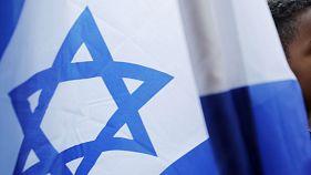 File image of the star of David on an Israeli flag