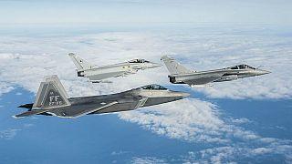 جنگنده های یوروفایتر تایفون و داسو رافال