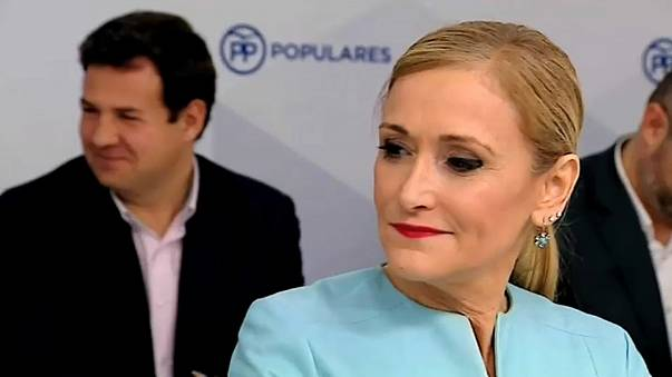 Madrid leader, Cristina Cifuentes, resigns after theft video emerges