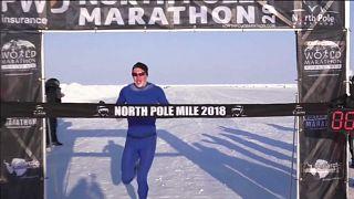 Рекорд в забеге на Северном полюсе
