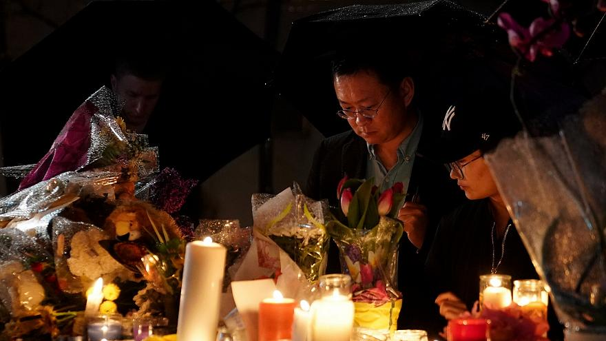 A vigil for the victims of the Torono van attack