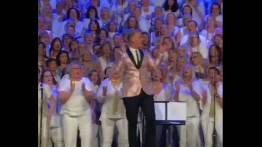Swedish choir sings 'Wake Me Up!' at Avicii hometown tribute