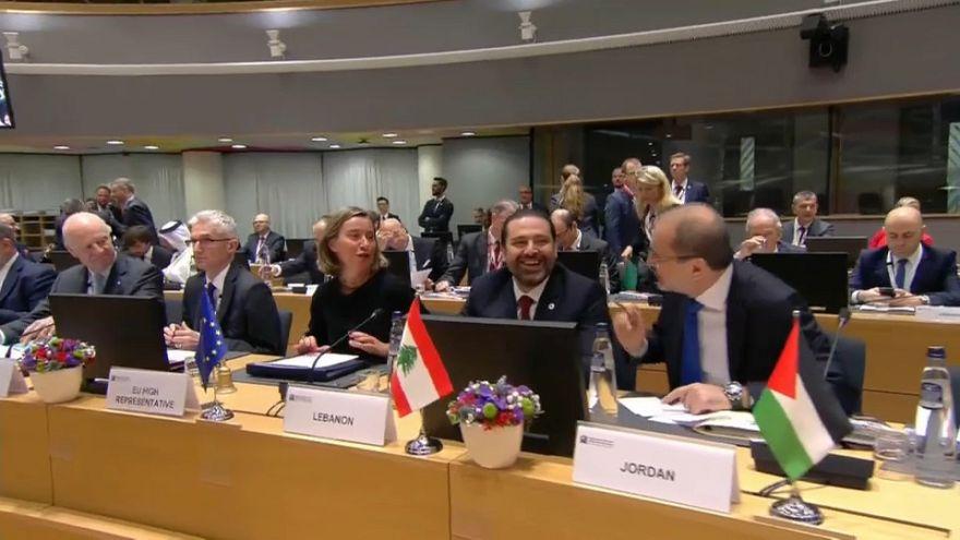 Brüksel Donörler Konferansı'nda Suriye için 4,4 milyar dolar toplandı