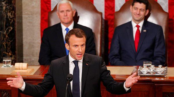 Macron: Başka bir gezegenimiz yok