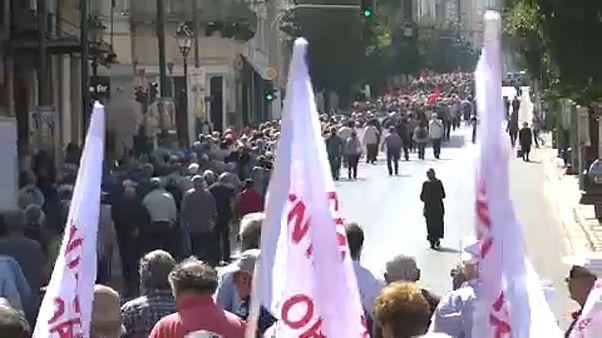 Athéni tüntetések