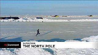 بالفيديو: العداء الإيرلندي بول روبنسون يسجل رقماً قياسياً في القطب الشمالي