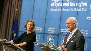 """Brüssel: Geberkonferenz bewilligt """"nur"""" 3,6 Milliarden Euro für Syrer in Not"""