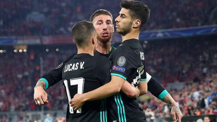 Champions League: Real Madrid più vicino alla finale, battuto di misura il Bayern