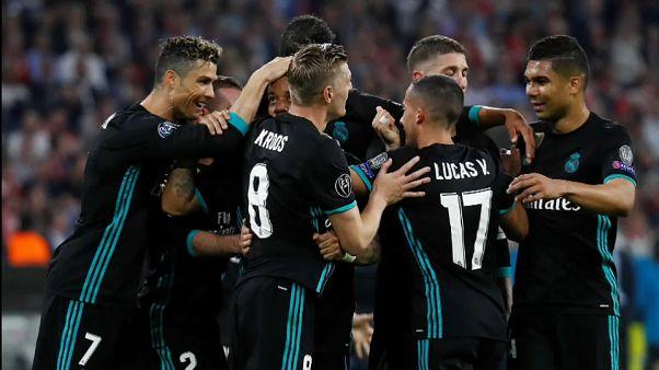 ريال مدريد يتفوق على بايرن ميونيخ في عقر داره